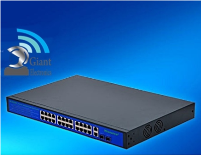 מתג POE Switch 24HS